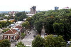 Stadschisinau stock foto