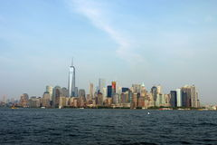 stadscityscape New York Arkivbilder