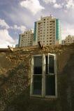 stadscontrasts Arkivfoton