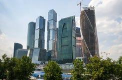 stadsdag kremlin utomhus- moscow Royaltyfria Foton