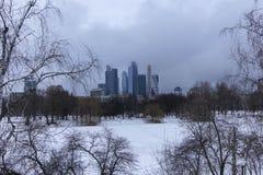 stadsdag kremlin utomhus- moscow Arkivbilder