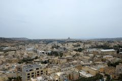 Stadsdaken, Rabat Victoria, Gozo Royalty-vrije Stock Fotografie
