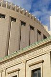 stadsdomstolsbyggnad kansas Arkivbild
