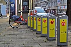 Stadsfiets Wenen Stock Fotografie