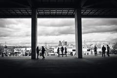 stadsfolk Arkivfoton