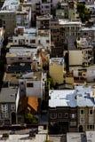 stadsfrancisco san scape royaltyfri fotografi