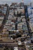 stadsfrancisco san scape fotografering för bildbyråer