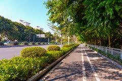 Stadsgata i ShenZhen Royaltyfria Foton