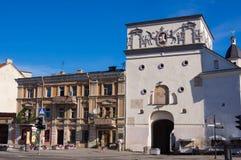 Stadsgatan till Vilnius Royaltyfria Bilder