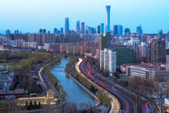 Stadsgebouwen China Zun royalty-vrije stock fotografie