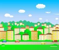 stadsgreen Arkivbild