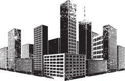 stadsgrunge Arkivfoto