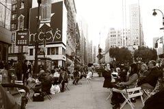 stadshärold nya fyrkantiga york Arkivbild