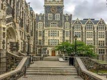 Stadshögskola av New York royaltyfri foto