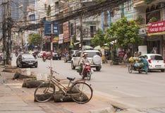 stadshalong vietnam Arkivbild
