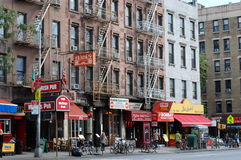 stadshelvetekök nytt s york Arkivfoto