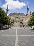 Stadshus Aachen Fotografering för Bildbyråer