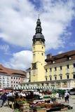 Stadshus av Bautzen i Tyskland Arkivbilder