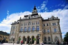 Stadshus av den Novi Sad staden, Serbien Fotografering för Bildbyråer