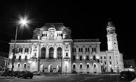 Stadshus av den Oradea staden Royaltyfria Foton
