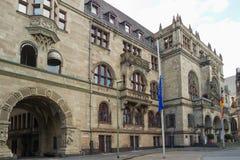 Stadshus av Duisburg i Tyskland Royaltyfri Fotografi