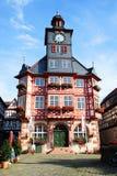 Stadshus av heppenheim royaltyfri bild