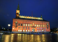 Stadshus av Köpenhamnen Royaltyfri Foto