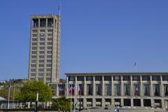 Stadshus av Le Havre i Frankrike arkivfoto