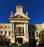 Stadshus av Malaga Arkivbild