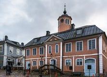 Stadshus av Porvoo, Finland arkivbild