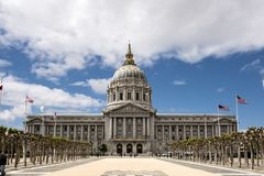 Stadshus av San Francisco royaltyfri foto