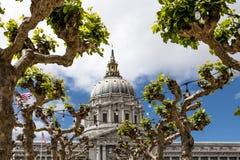Stadshus av San Francisco royaltyfri fotografi