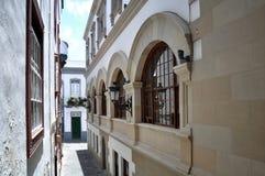 Stadshus av Santa Cruz de La Palma Arkivfoto