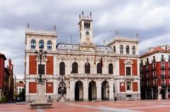 Stadshus av Valladolid Royaltyfri Bild