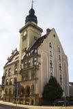 Stadshus av Werdau, Tyskland arkivbilder