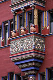 Stadshus Basel Arkivbild