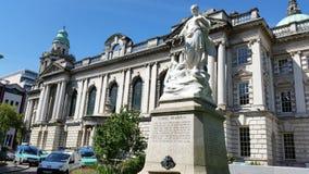 stadshus belfast Royaltyfri Bild