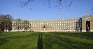 Stadshus-, Bristol & högskolagräsplan Royaltyfria Foton