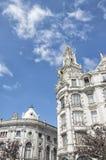 stadshus gammala porto portugal Arkivbild