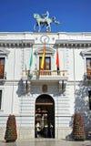 Stadshus Granada, Spanien Arkivbild