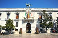 Stadshus Granada, Spanien Arkivfoto