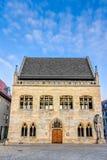Stadshus Halberstadt Arkivfoton
