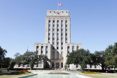 stadshus houston texas Royaltyfri Fotografi