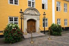 Stadshus i Aalborg, Danmark Arkivbilder