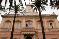 Stadshus i Ajaccio, Korsika royaltyfri foto