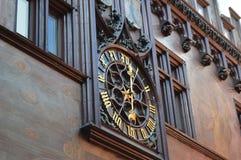 Stadshus i Basel Fotografering för Bildbyråer