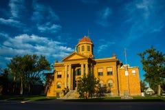 Stadshus i Belle Fourche, South Dakota Fotografering för Bildbyråer