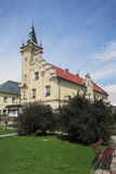 Stadshus i Branna, Tjeckien royaltyfria bilder