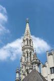 Stadshus i Bryssel, Belgien Royaltyfria Bilder