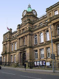 Stadshus i Burnley Lancashire Royaltyfria Foton